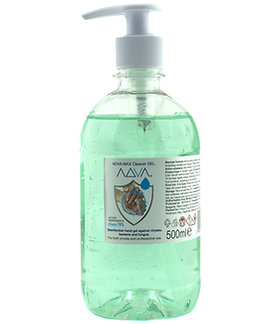 ADVA Hand Sanitiser Gel with pump 500ml