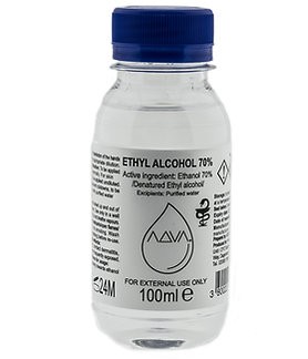 ADVA  Ethyl Alcohol 70% 100ml