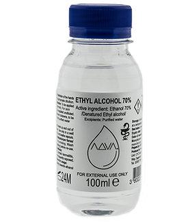 ADVA  Ethyl Alcohol 70% 100ml